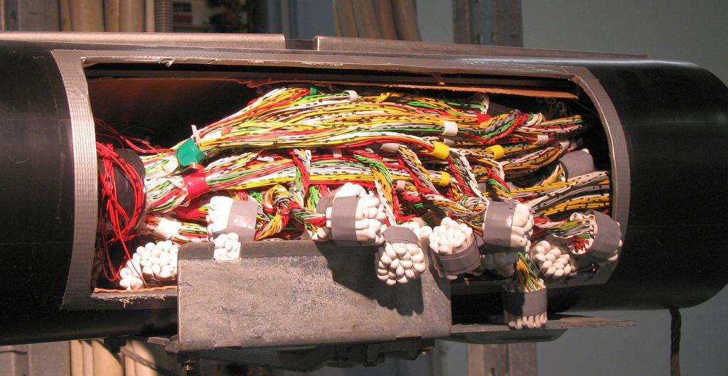 Монтаж кабельных муфт